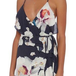 NWT - Intermix Barletta Print Maxi Dress (L)